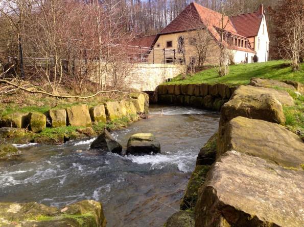 """Die """"Obere Mühle""""."""